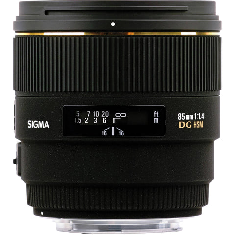 Sigma 85mm F1.4 EX DG HSM (Canon) - Photo-Video - Sigma - Helix Camera