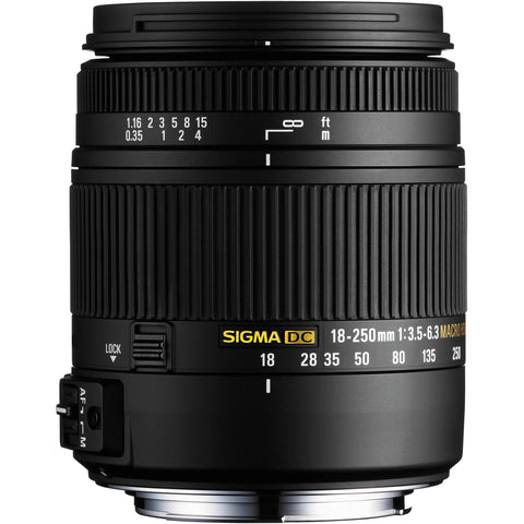 Used Sigma 18-250mm f3.5-6.3 DC HSM Macro for Sony A-Mount