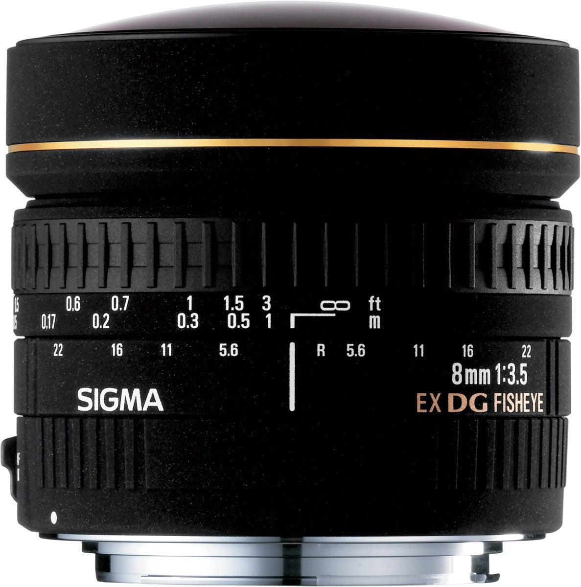 Sigma 8mm F3.5 EX DG Circular Fish-Eye (Canon) - Photo-Video - Sigma - Helix Camera