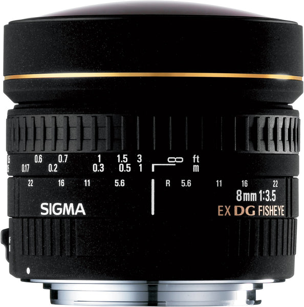 Sigma 8mm F3.5 EX DG Circular Fish-Eye (Nikon) - Photo-Video - Sigma - Helix Camera