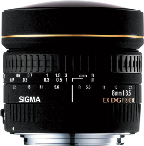 Sigma 8mm F3.5 EX DG Circular Fish-Eye (Sigma) - Photo-Video - Sigma - Helix Camera