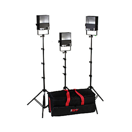 Smith Victor SL300 3-Light 1800-watt SoftLight location kit (401405) - Lighting-Studio - Smith-Victor - Helix Camera
