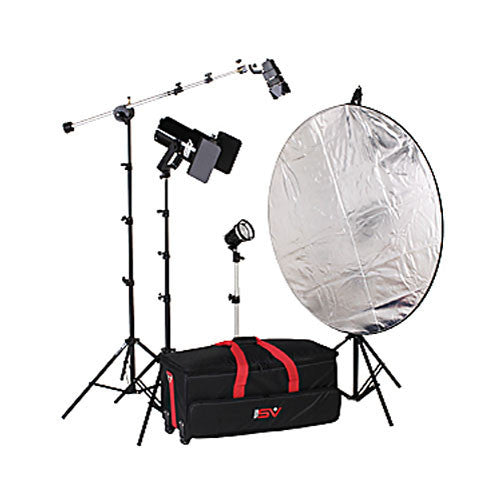 Smith Victor K64 3-Light 1000-watt controlled quartz portraiture kit (401466)