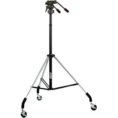 Smith Victor Dollypod V Wheeled tripod with Pro-5 2-way head (700000) - Photo-Video - Smith-Victor - Helix Camera