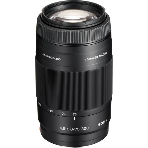 Used Sony 75-300mm f4.5-5.6 A-Mount
