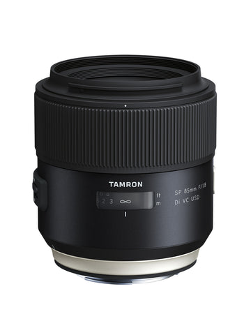 Tamron SP 85mm F/1.8 Di VC USD - Canon Mount - Lenses - Tamron - Helix Camera