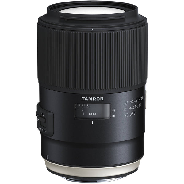 Tamron SP 90mm F/2.8 Di VC USD 1:1 Macro - Sony A-Mount - Photo-Video - Tamron - Helix Camera
