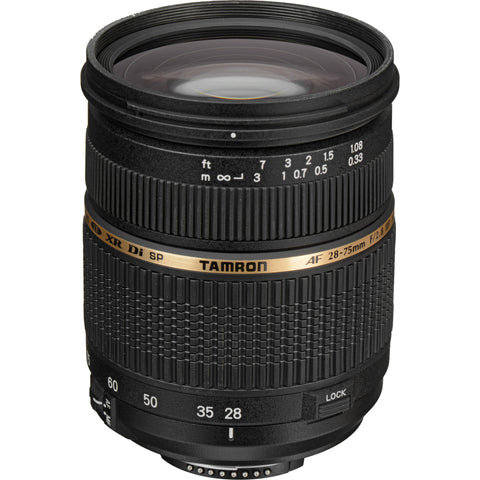 Tamron Nikon SP 28-75mm F/2.8 XR Di LD Aspherical (IF) w/ hood AF09NII700 - Photo-Video - Tamron - Helix Camera