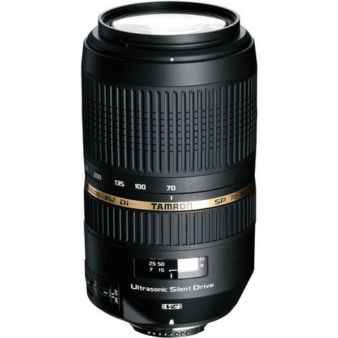 Tamron Nikon SP 70-300mm F/4-5.6 Di VC USD w/ hood AFA005NII700 - Photo-Video - Tamron - Helix Camera