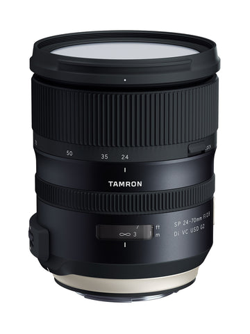 Tamron SP 24-70mm F/2.8 Di VC USD G2 - Canon Mount (PRE-ORDER) - Photo-Video - Tamron - Helix Camera