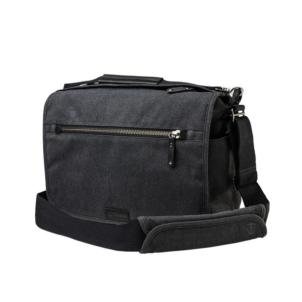 Tenba Cooper 13 Messenger Bag (Grey) - Photo-Video - Tenba - Helix Camera