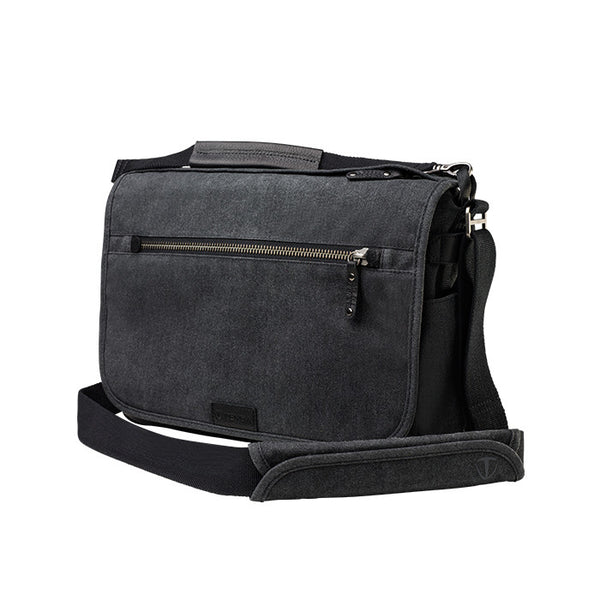 Tenba Cooper 13 Slim Messenger Bag (Grey) - Photo-Video - Tenba - Helix Camera