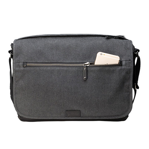 Tenba Cooper 15 Messenger Bag (Grey) - Photo-Video - Tenba - Helix Camera