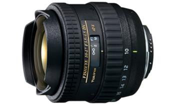 Tokina 10-17mm F/3.5-4.5 Fish-eye zoom lens for Canon Digital (APS-C)
