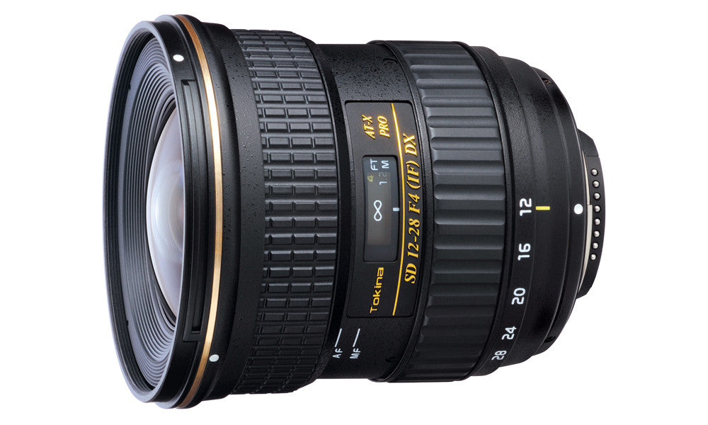 Tokina 12-28mm F/4 DX LENS FOR CANON
