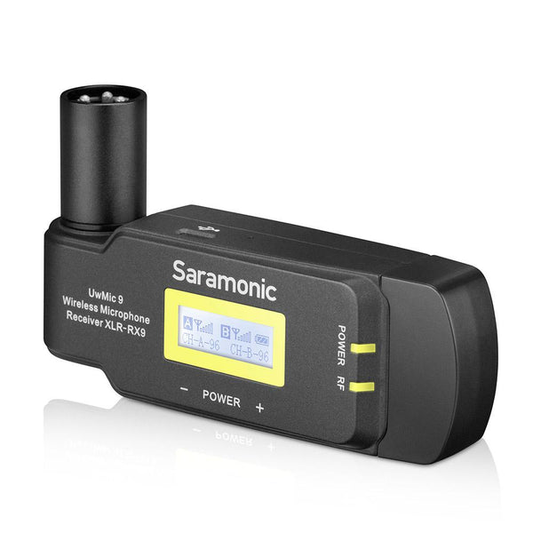 Saramonic Uwmic9 Rx-XLR9 Compact Plug-On Dual-Channel Uhf Wireless Receiver