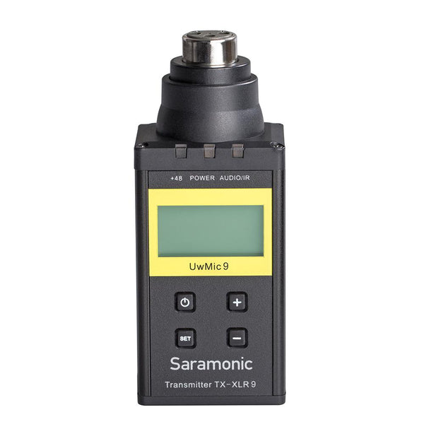 Saramonic TX-XLR9 Plug-on XLR Transmitter for UwMIC9 Digital UHF Wireless Microphone System