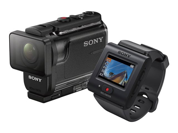 Sony Action Cam-HDR-AS50 with Live-View Remote