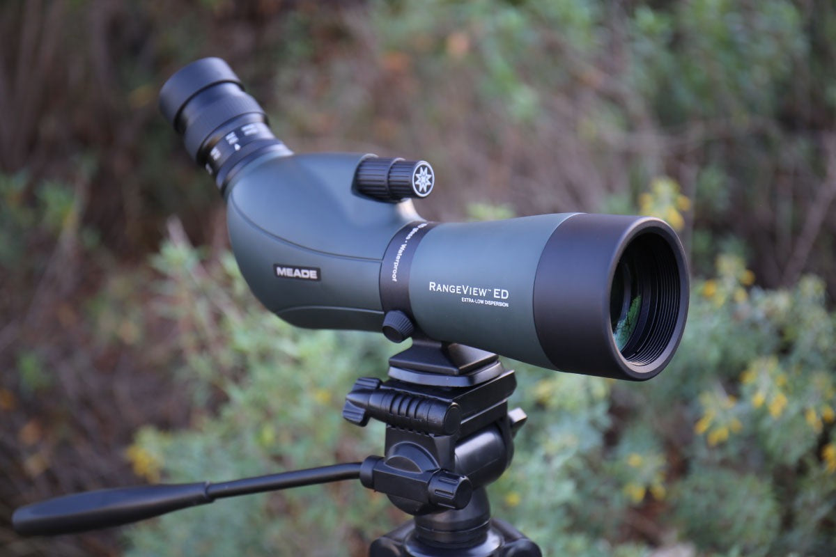 Meade Rangeview ED Spotting Scope - 20-60X80MM