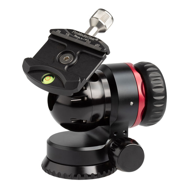 ProMediaGear BH1 Professional Ball Head with Arca-Type Clamp