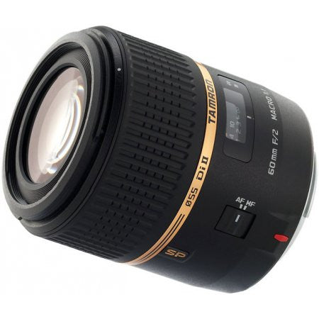Tamron Canon SP 60mm F/2 Di-II LD (IF) 1:1 Macro w/ hood AFG005C700 - Photo-Video - Tamron - Helix Camera
