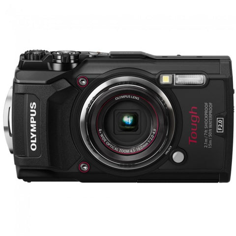Olympus Stylus Tough TG-5 Digital Camera - Black