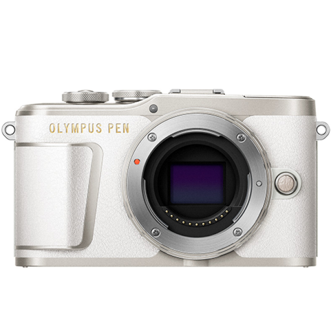 Olympus PEN E-PL9 Mirrorless Camera with 14-42mm - Pearl White