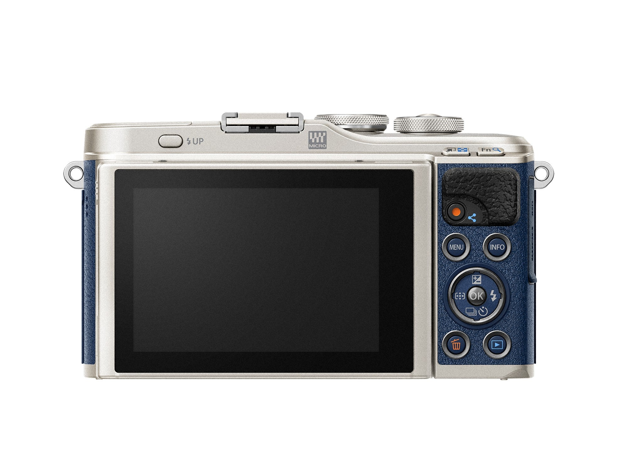 Olympus PEN E-PL9 Mirrorless Camera with 14-42mm - Denim Blue