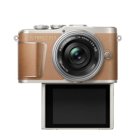Olympus PEN E-PL9 Mirrorless Camera - Honey Brown