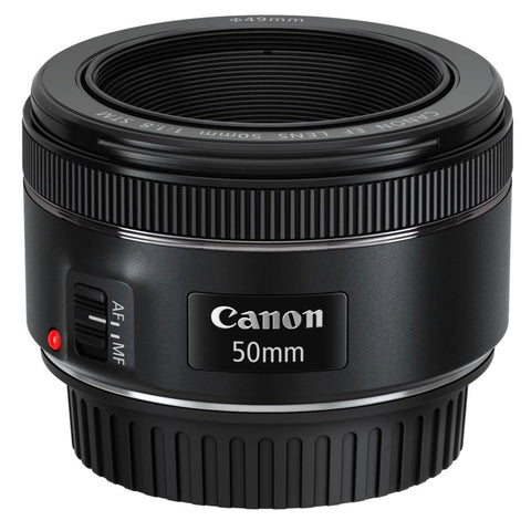 Canon EF 50mm f/1.8 STM Lens + Speedlite EL-100 Creative Photography Kit