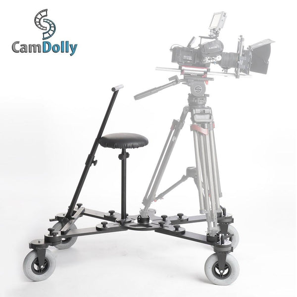 Fotodiox CamDolly Cinema Systems + Two Snake Track Flexible  Rails (2x Rails)