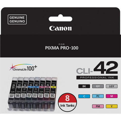 Canon CLI-42 8 INK SET 6384B007