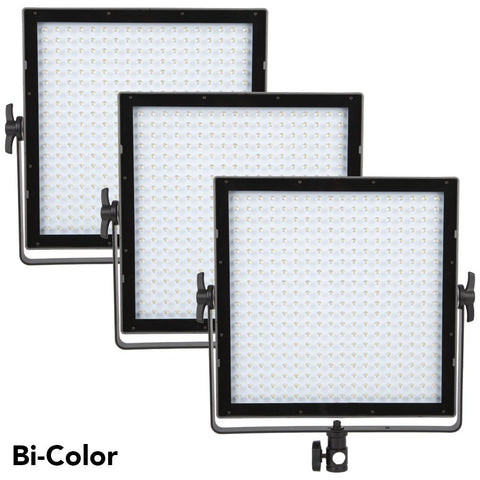 VIBESTA Capra 30 Bi-Color LED Panel 3-Light Kit