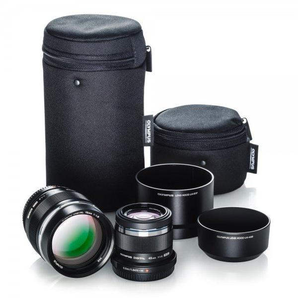 Olympus Portrait Lens Kit with 45mm f1.8 & 75mm f1.8