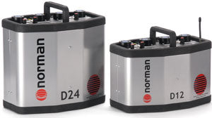Norman D12R Power Pack 1200 watt second w/Pocket Wizard