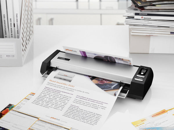 Plustek MobileOffice D430 28PPM duplex small foot print document scanner (PLS-783064605533) - Print-Scan-Present - Plustek - Helix Camera