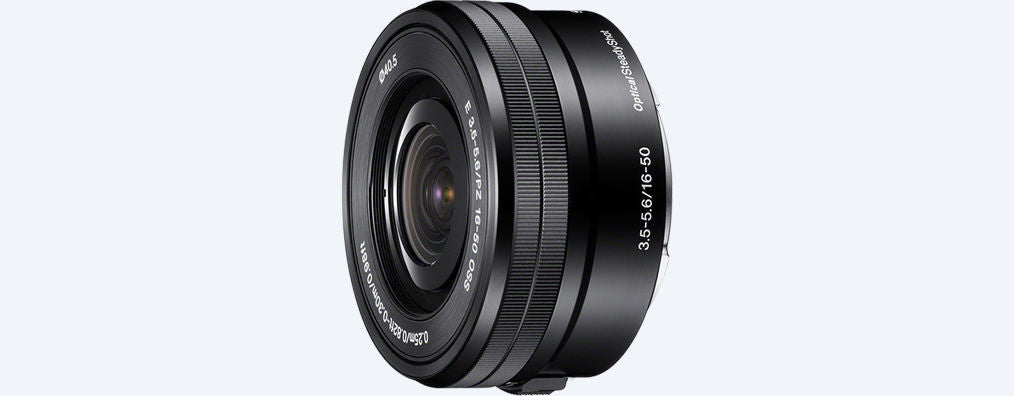 Sony E 16-50mm f3.5-5.6 OSS Retractable Zoom Lens - Photo-Video - Sony - Helix Camera