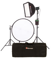 Norman DP320-KIT1 Kit One Light Outdoor Fill Kit