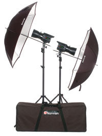 Norman DP320-KIT3 Two Light Basic Travel Kit