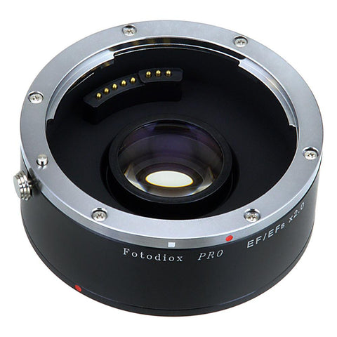 Fotodiox Pro Autofocus 2X Teleconverter Compatible with Canon EOS EF Full Frame Lenses and EF/EFs Cameras