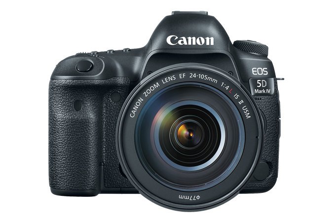Canon EOS 5D Mark IV with EF 24-105mm f4 Lens - Photo-Video - Canon - Helix Camera