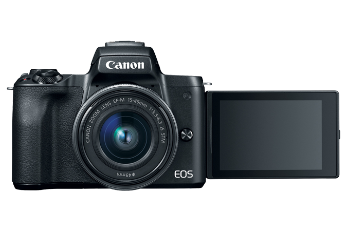 Canon EOS M50 Mirrorless Digital Camera with 15-45mm