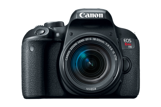 Canon EOS Rebel T7i with 18-55mm Lens - Photo-Video - Canon - Helix Camera
