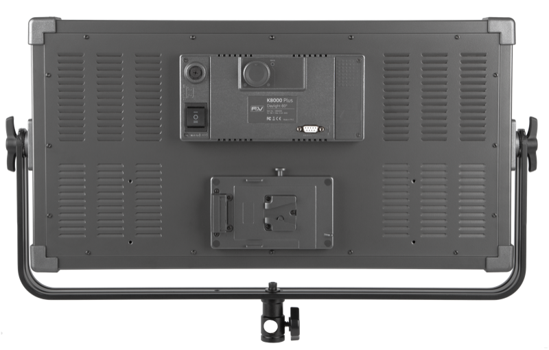 F&V K8000 Plus Daylight LED Studio Panel 2-light Kit (V-mount) 109041550231 - Lighting-Studio - F&V Lighting USA - Helix Camera