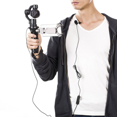 Saramonic LavMicro Lavalier Microphone for DSLRs, Mirrorless, Video Cameras, Smartphones & more