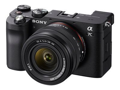 Sony a7c Full-Frame Mirrorless with FE 28-60mm - Black