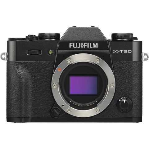 Fujifilm X-T30 Mirrorless Camera with 15-45mm - Black