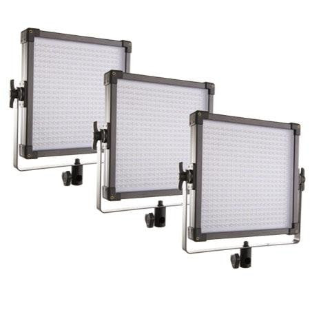 F&V K4000S Bi-Color LED Panel 3-Light Kit (V-mount) 109041010231 - Lighting-Studio - F&V Lighting USA - Helix Camera