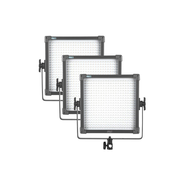 F&V K4000S Plus Bi-Color LED Studio Panel 3-light Kit (V-Mount) - Lighting-Studio - F&V Lighting USA - Helix Camera