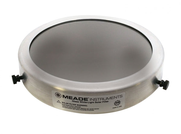 Meade GLASS WHITE-LIGHT SOLAR FILTER #950 2-Day Shipping - Telescope Accessory - Meade - Helix Camera